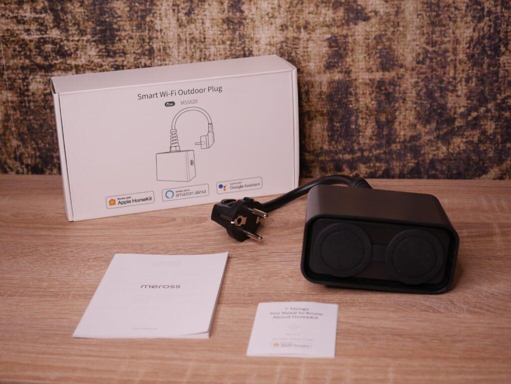 Die smarte Outdoor Steckdose mit Apple HomeKit von Meross im Test 1